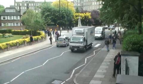 Live London Streaming Webcam - Abbey Road Zebra Crossing