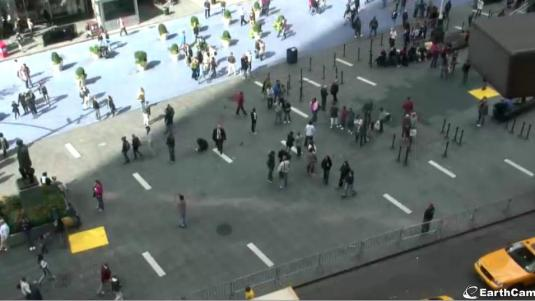 Broadway live streaming Times Square webcam NYC